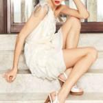 Gorgeous Russian fashion model Ksenia Kahnovich