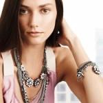 Advertising jewellery, Ksenia Kahnovich, Russian supermodel