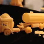 Work in progress. Macaroni sculpture by Russian creative designer Sergei Pakhomov