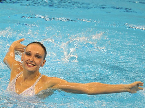 Natalia Ishchenko, the first in the history 11-time world champion
