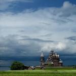 Christian church. Nature by self-taught photographer Sergey Novozhilov