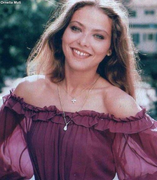 Ornella Muti Beautiful actress with Russian roots
