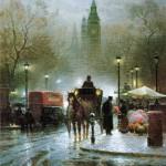 Painting by American artist Gerald Harvey Jones