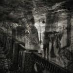 Gothic night. Black and white St. Petersburg by Russian professional photographer Gennadi Blokhin