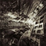 Twilight. Black and white St. Petersburg by Russian professional photographer Gennadi Blokhin