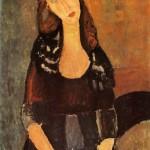 Modigliani's Portrait of Jeanne Hebuterne 1918