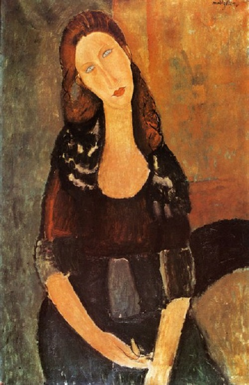 Portrait of Jeanne Hebuterne 1918