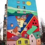 Street art in Ramenskoye