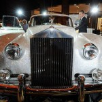 Rolls Royce Silver Cloud from 1962, displayed at the Four Seasons Hotel in Munich, southern Germany, on July 17, 2012