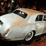 Displayed at the Four Seasons Hotel in Munich, southern Germany, on July 17, 2012 Rolls Royce Silver Cloud from 1962