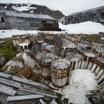 A settlement in the Arctic