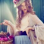 Flower seller. Photoart by Daria Zaitseva