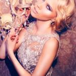 Blue-eyed blonde model. Photoart by Daria Zaitseva