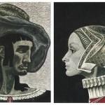 Work by Soviet book illustrator Savva Brodsky