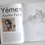 Visiting Yemen. Book written and illustrated by a talented French artist traveler Stephanie Ledoux