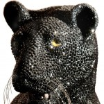 Life-size Sculpture of Panther
