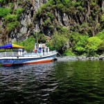 Passenger boat for tourists
