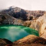 Kelimutu crater lake, Flores Island, Indonesia