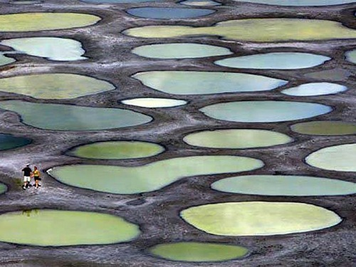 Khiluk Spotted Lake in Canada
