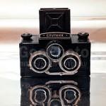 Soviet camera 'Sputnik'. Vintage cameras by Russian photographer Alexander Knyazev