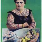 Tattooed Lady Poster 1906