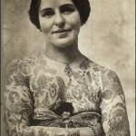 Edith Burchett was the wife of tattoo artist George Burchett