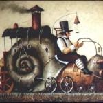 Riding a Snail