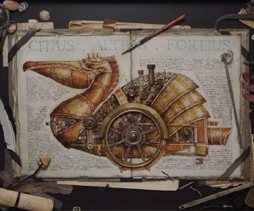 steampunk by Vladimir Gvozdev