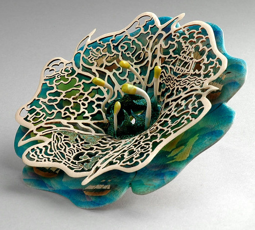 Wooden lace by Joey Richardson