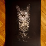Gorgeous Celestial Cats created by British freelance artist Boya Latumahina (Zippora Lux)