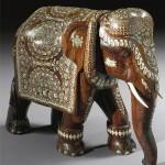 Gorgeous porcelain elephant