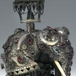 Metal handsculpted elephant