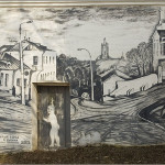 Beautiful and intricate street Artwork of a local amateur painter Vladimir Ovchinnikov