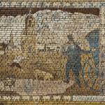 Brick wall painted by Vladimir Ovchinnikov