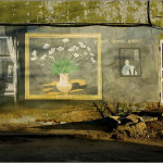 Hasten to do good. Street Artwork of a local amateur painter Vladimir Ovchinnikov