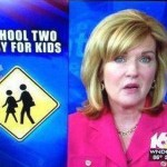 two easy. Poor. It is not only schools which make embarrassing gaffes, as this news caption for WNDU shows