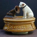 His Master's Voice sculpture