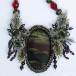 Twilight necklace. Jewelry art by Svetlana Ovintsovskaya