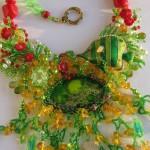 Underwater world necklace. Jewelry by Svetlana Ovintsovskaya