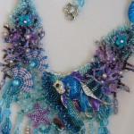 Sea world necklace. Jewelry art by Svetlana Ovintsovskaya