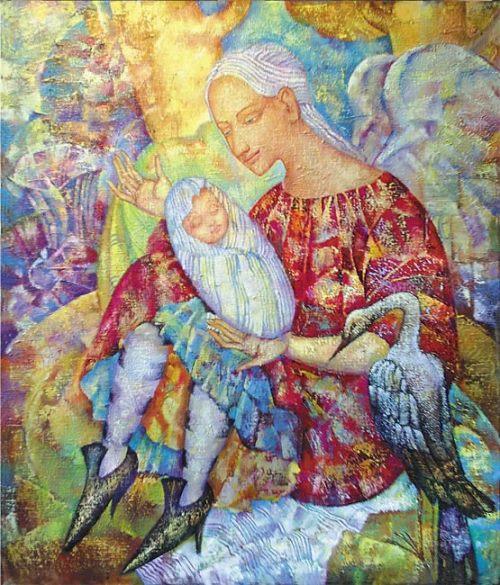 Surrealistic paintings of Russian artist Olga Naletova
