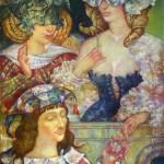 Painting by Russian artist surrealist Olga Naletova