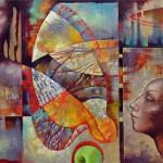 Painting by Russian artist Olga Naletova