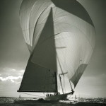 Sails. Black & white photo by Canadian photographer Michael Kahn