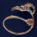 Beautiful jewelry by Dashi Namdakov, Russian jeweler