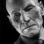 Xavier. Hyperrealistic pencil drawing by Italian artist Franco Clun