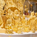 Statuettes of gold