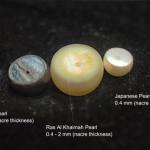 Tahitian, Japanese and Emirates pearl