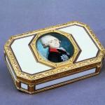 Snuff box with a portrait of Grand Duke Paul Petrovich Russia 1780