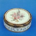 Gold, diamonds, pearls, enamel, glass, wax, chasing, pouncing, painting. Height. Koenig, George Henry. Russia. St. Petersburg. 1780